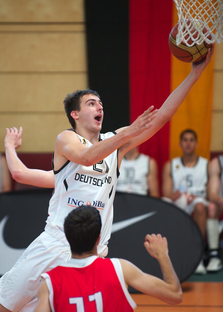 Basketball Herren U20 GER vs CZE